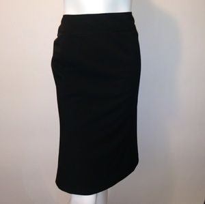 Sz 10 Ann Taylor black skirt